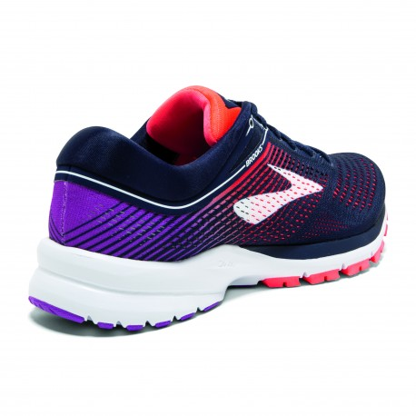 Brooks Launch 5  Pink/Black Donna