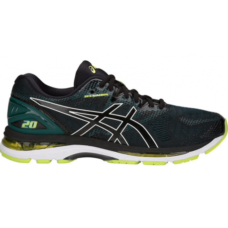 Asics Gel-Nimbus 20  Black/Green