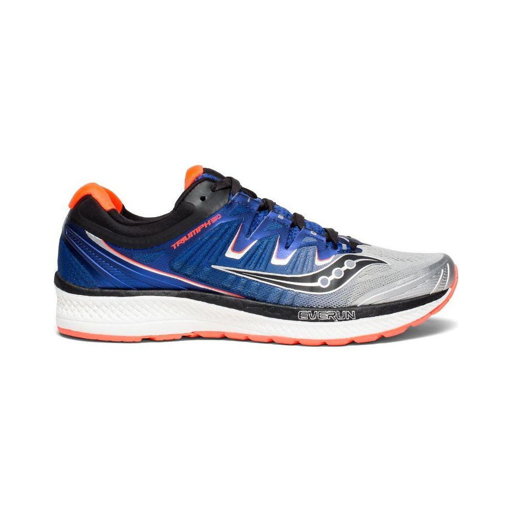 Saucony Triumph Iso4 SilverBlueVizired S20413 35