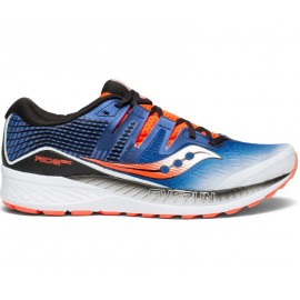 Saucony Ride Iso  White/Blue/Vizired