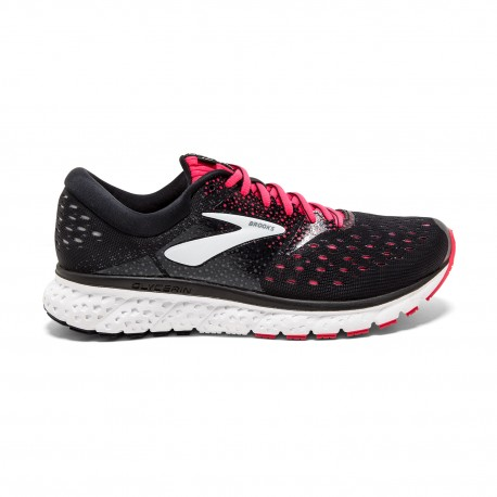 Brooks Glycerin 16  Black/Pink Donna