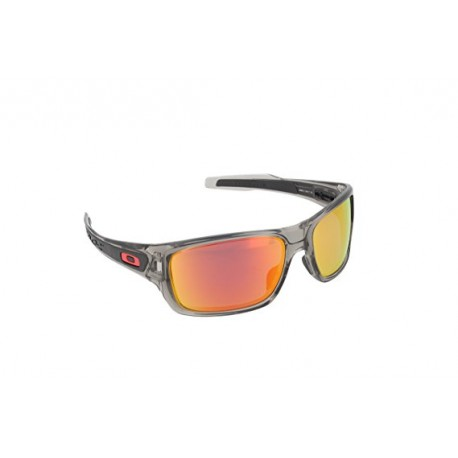 Oakley Occhiale Turbine Grey Ink W/Ruby Iridium Polar