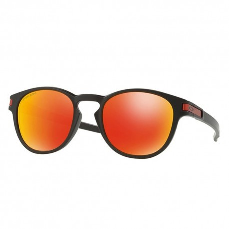 Oakley Occhiale Latch Matte Black/Prizm Ruby