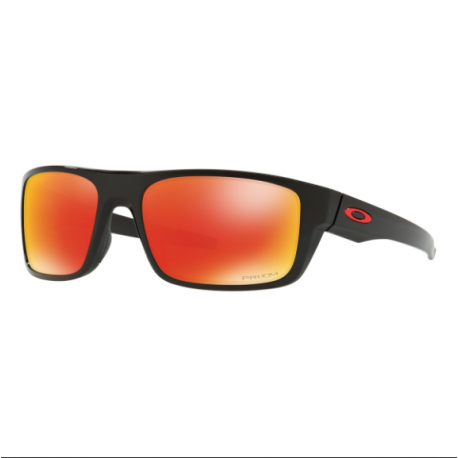 Oakley Occhiale Drop Point Polished Black/Prizm Ruby