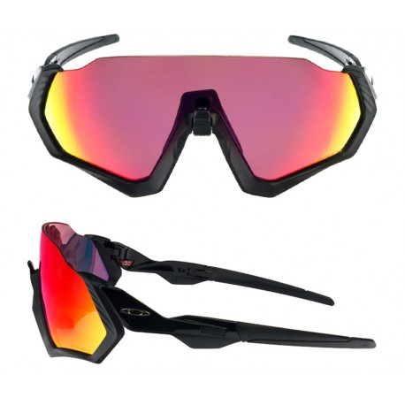 Oakley Occhiale Flight Jacket Matt Blk/Prizm Road