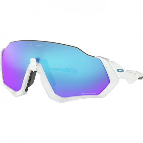 Oakley Occhiale Flight Jacket Matt Wht/Prizm Sapph