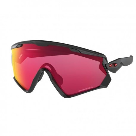 Oakley Occhiale Wind Jacket 2.0 Pol Black/Prizm Road