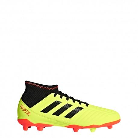 Adidas  Bambino Predator 18.3 Fg Giallo/Rosso