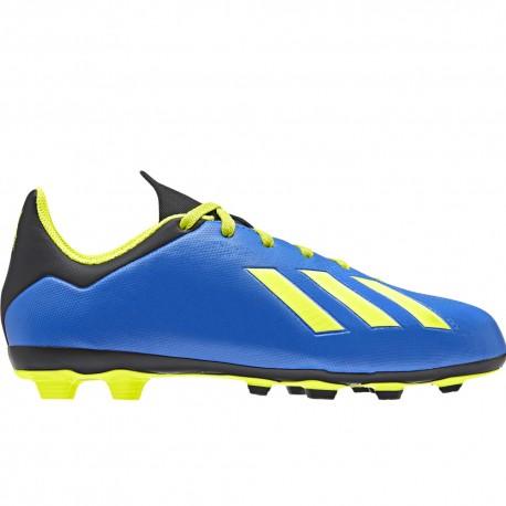 Adidas  Bambino X 18.3 Fg Blu/Giallo