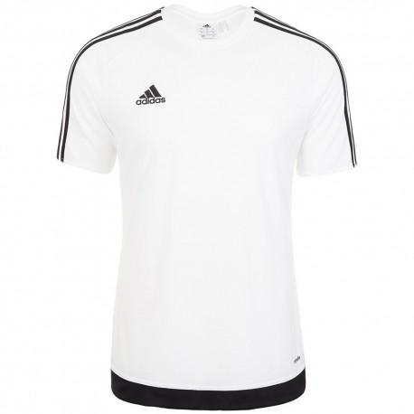Adidas Bambino T-Shirt Mm Estro 15 Team Bianco/Nero