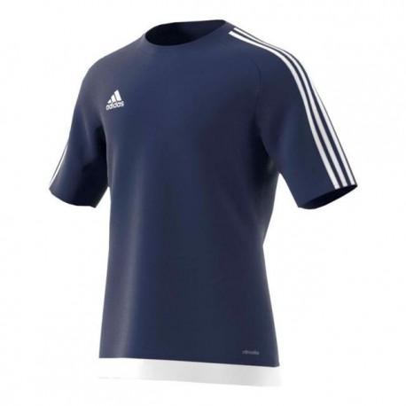 Adidas T-Shirt Mm Estro 15 Team Blu/Bianco