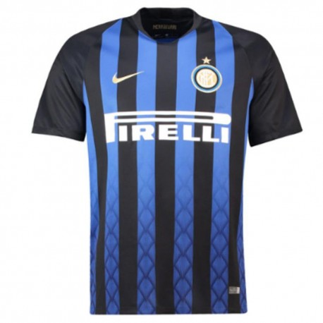 Nike T-Shirt Mm Inter Home Nero/Oro