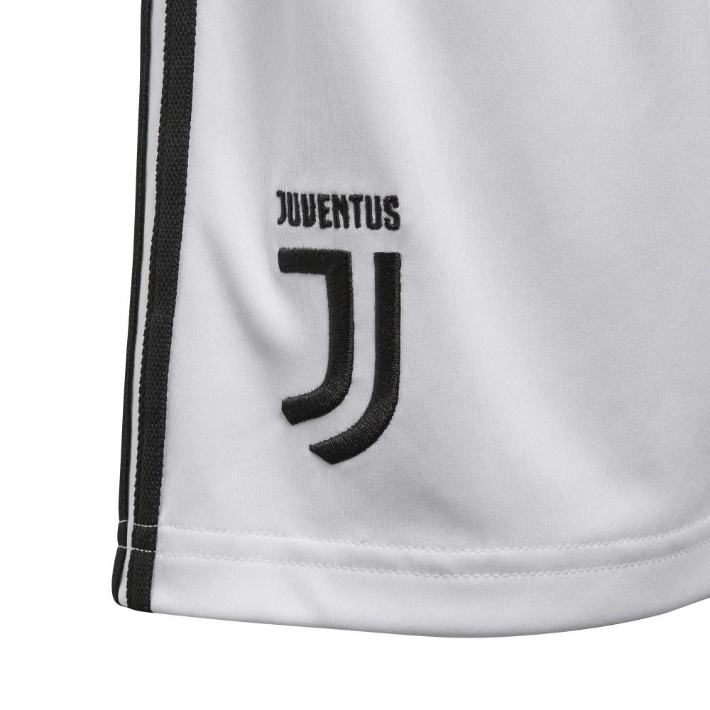 pretty nice 8fc14 8555c ... Adidas Short Bambino Juve Home Bianco