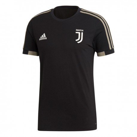 Adidas T-Shirt Mm Juve  Cotton Nero/Beige