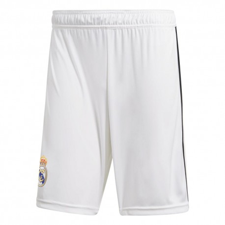 Adidas Short Real Home Bianco/Nero