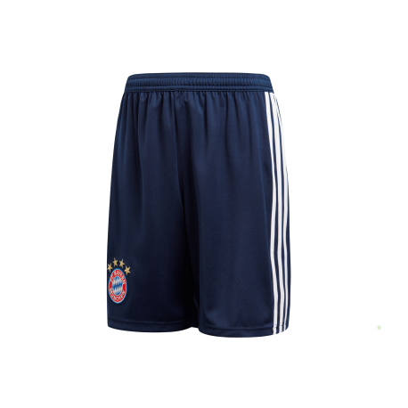Adidas Short Bayern Home Navy/Bianco