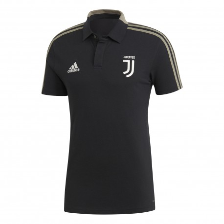Adidas Polo Mm Juve Nero