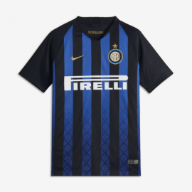 Nike T-Shirt Mm Bambino Inter Home Nero/Oro