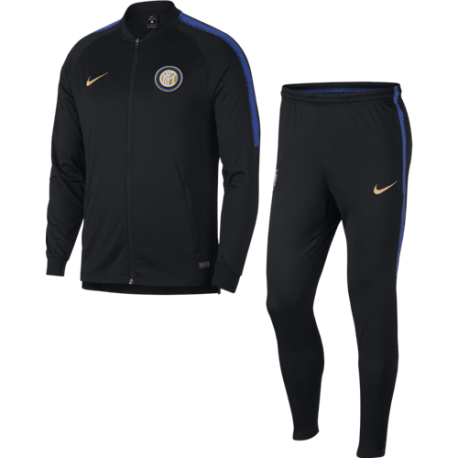 Nike Tuta Inter Dry Sqd Nero/Royal