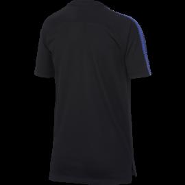 Nike T-Shirt Mm Bambino Inter Squad Training Nero/Royal
