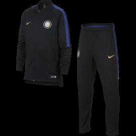 Nike Tuta Bambino Inter Squad Nero/Royal