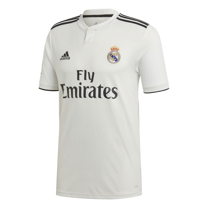 Adidas T-Shirt Mm Real Madrid Home Bianco/Nero