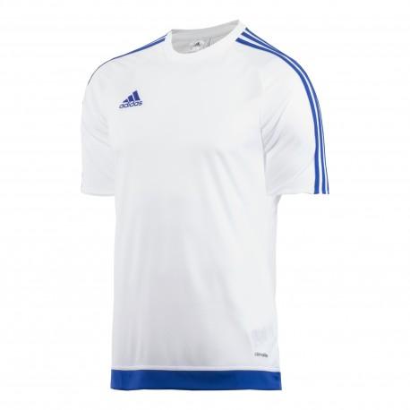 Adidas T-Shirt Mm Estro 15 Team Bianco/Royal