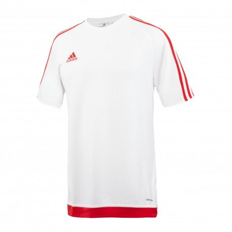 Adidas T-Shirt Bambino Mm Estro 15 Team Bianco/Rosso