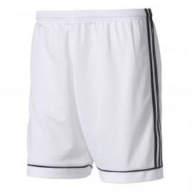 ADIDAS pantaloncini calcio squadra team bianco nero bambino