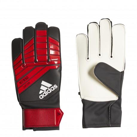 Adidas Guanto Jr Predator Rosso/Nero