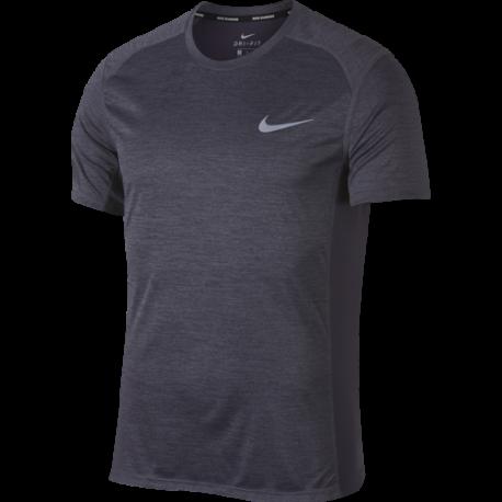 Nike T-Shirt Run Miler  Gridiron/Htr