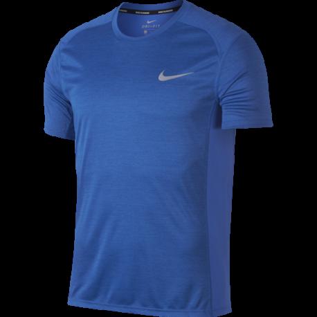 Nike T-Shirt Run Miler  Signal Blue/Htr