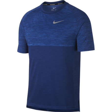 Nike T-Shirt Run Mm Dry Medalist  Signal Blue/Blue Void