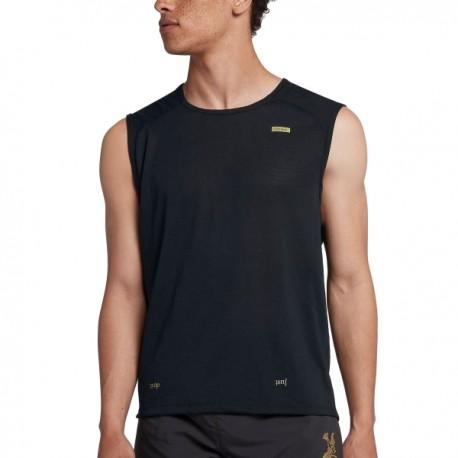 Nike Canotta Run Tailwind Gx  Black