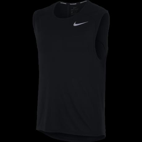 Nike Canotta Run Tailwind Slv Cl  Black
