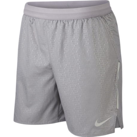 Nike Short Run 7in Dstnce Br Emb  Gunsmoke/Atmosphere Grey
