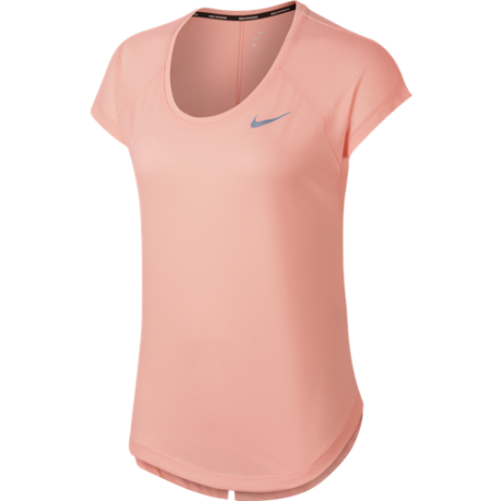 Nike T-Shirt Donna Run Mm Tailwind Top Cool Lx  Storm Pink