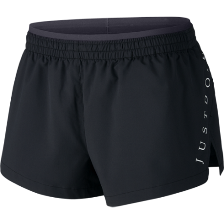 Nike Short Donna Run Elevate Jdi  Black/Black