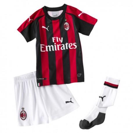 Puma Mini Kit Bambino Home Milan Rosso/Bianco