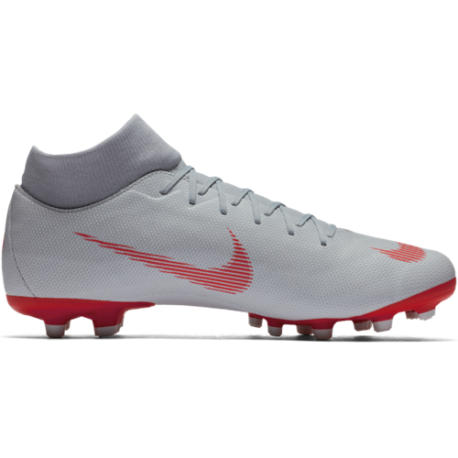 Nike  Mercurial Superfly 6 Academy Mg Grigio/Rosso