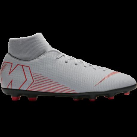 Nike  Superfly 6 Club Mg Grigio/Rosso