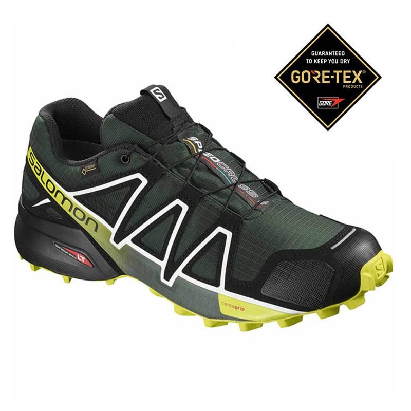 Salomon Speedcross 4 GORE-TEX Darkset Spruce 404662 - Acquista ... ea9faddbbd2
