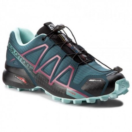 Salomon Donna Speedcross 4 Csmallard Blue/Reflecting Po