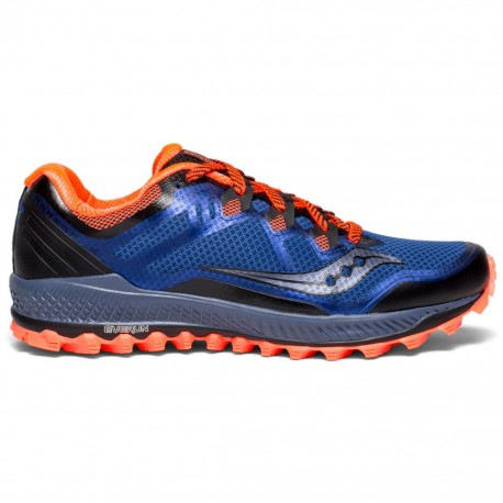 Saucony Peregrine 8 Blue/Black/Vizired