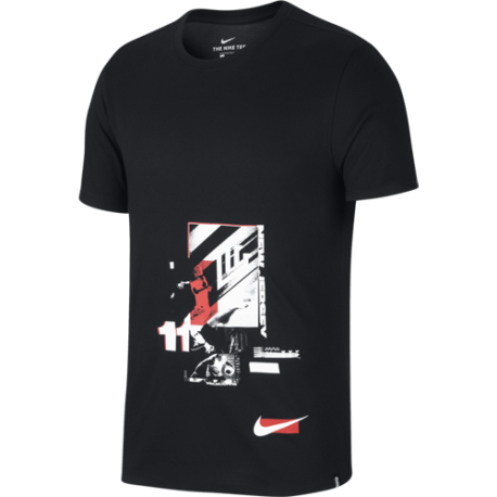Nike T-Shirt Mm Dry  Night Time  Nero