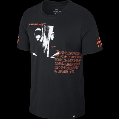 Nike T-Shirt Mm Dry Exodus  Nero