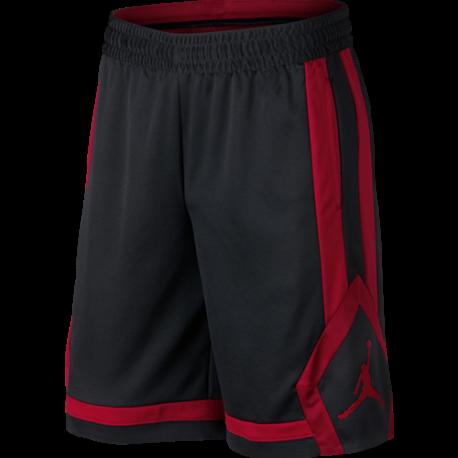 Nike Short Jordan Rise  Nero/Rosso