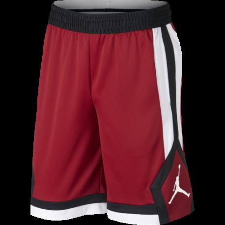 Nike Short Jordan Rise  Rosso/Nero