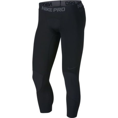 Nike Tight 3 Qt Dry  Nero/Nero