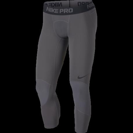 Nike Tight 3 Qt Dry  Grigio/Nero